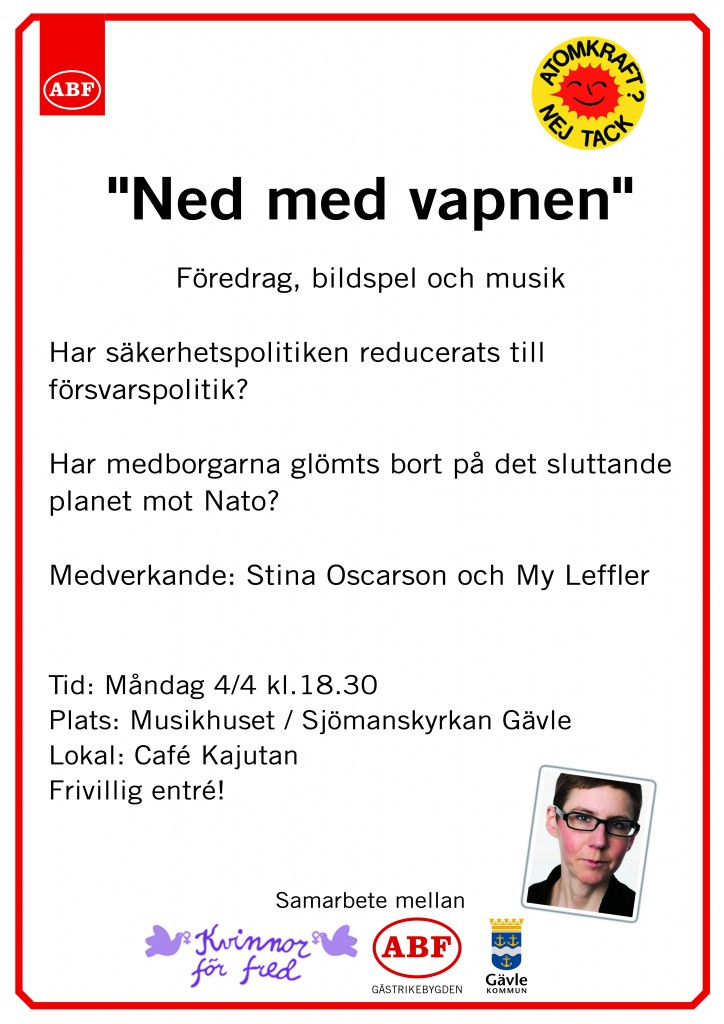 NED med vapnen 4 april-2